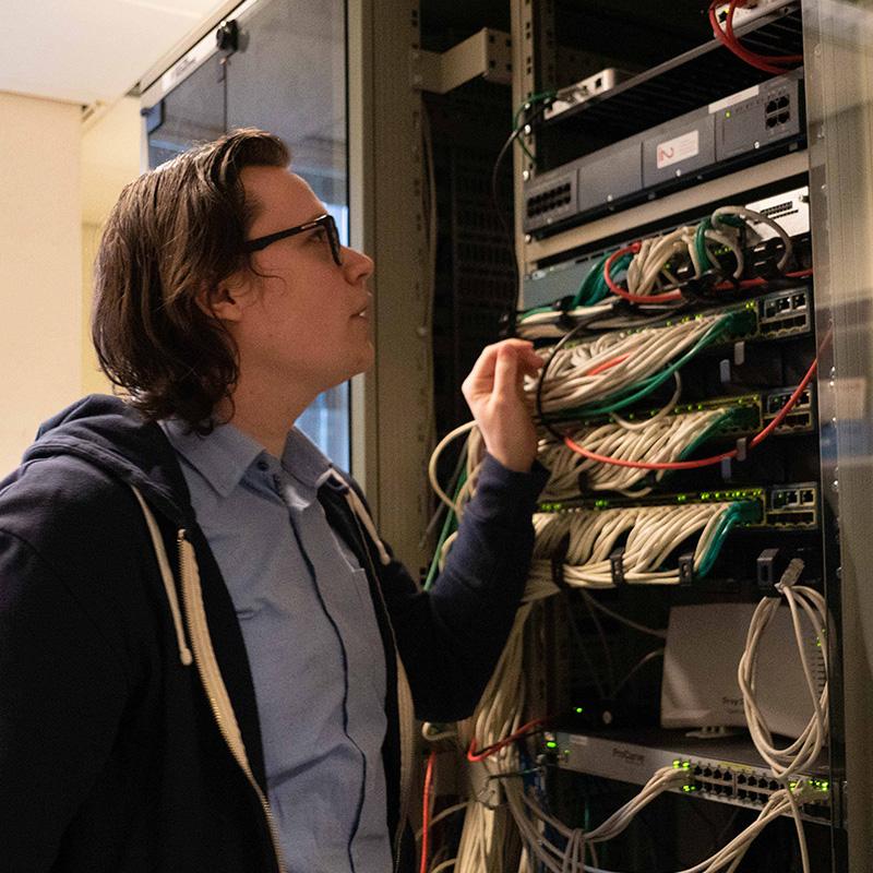 dWise Computers Hoofdfoto Serverbeheer
